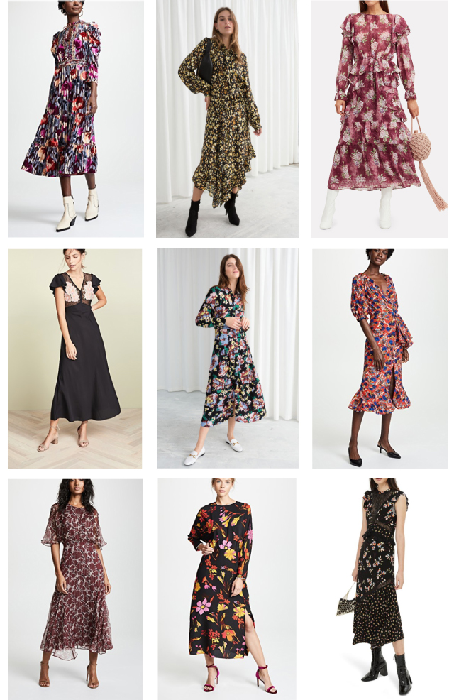 dresses for a fall southern cali wedding
