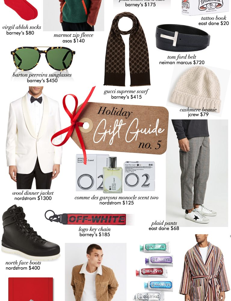 holiday gift guide no. 5 – for the boys