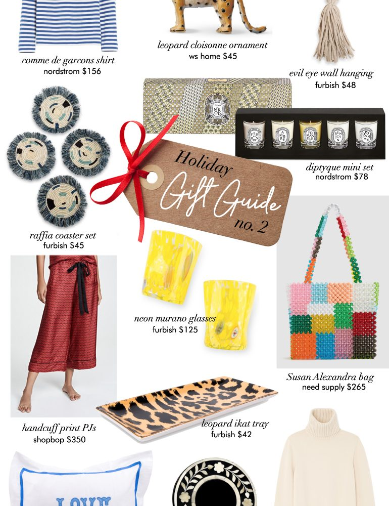 holiday gift guide no. 2