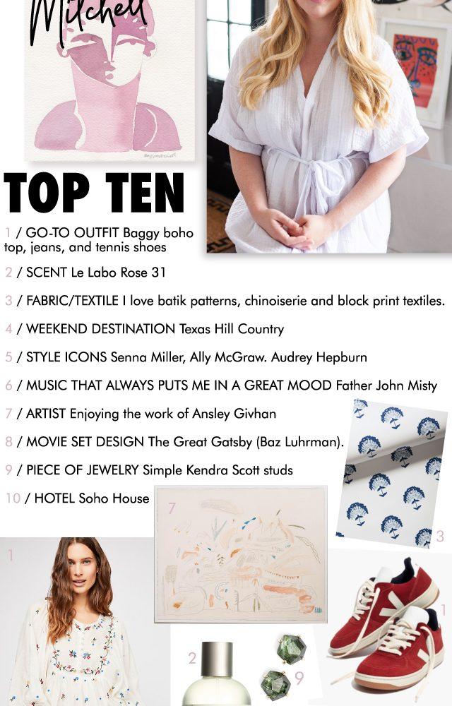 top ten : hayley mitchell