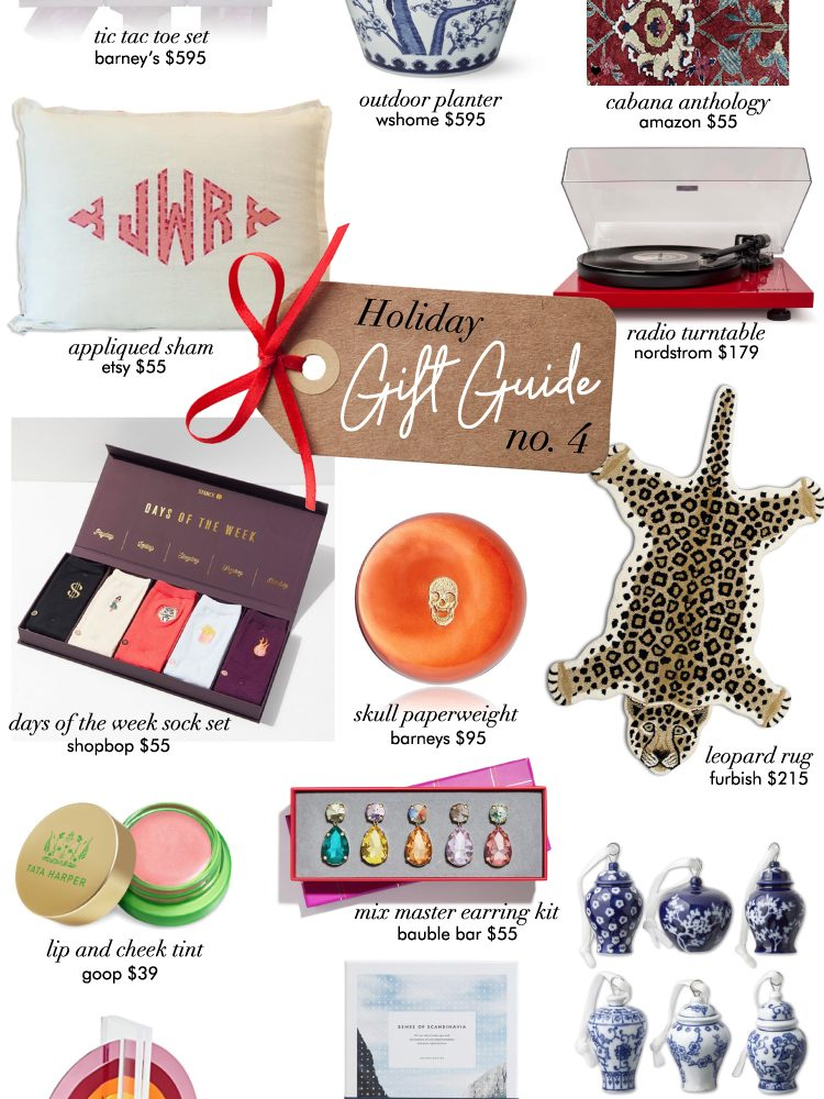 holiday gift guide no. 4