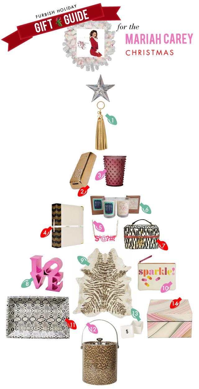 holiday gift guide #5 – a mariah carey christmas