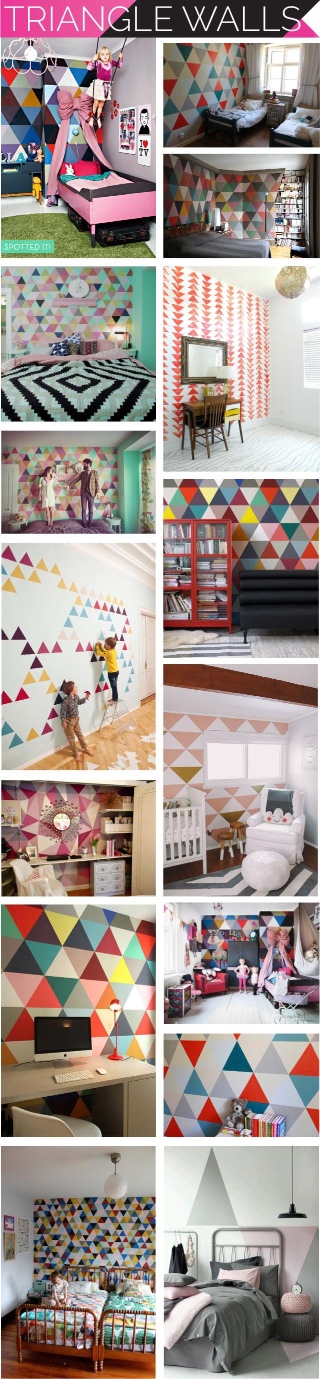 triangle-walls