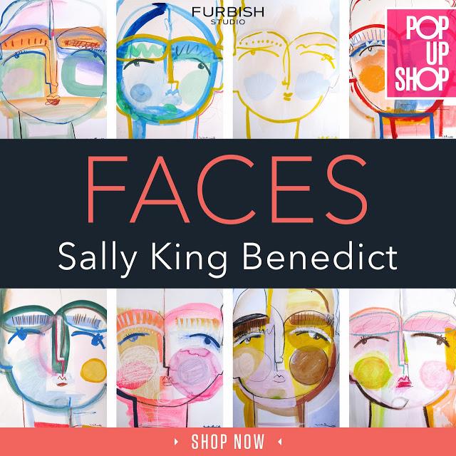 sally king benedict – original faces pop up LIVE!
