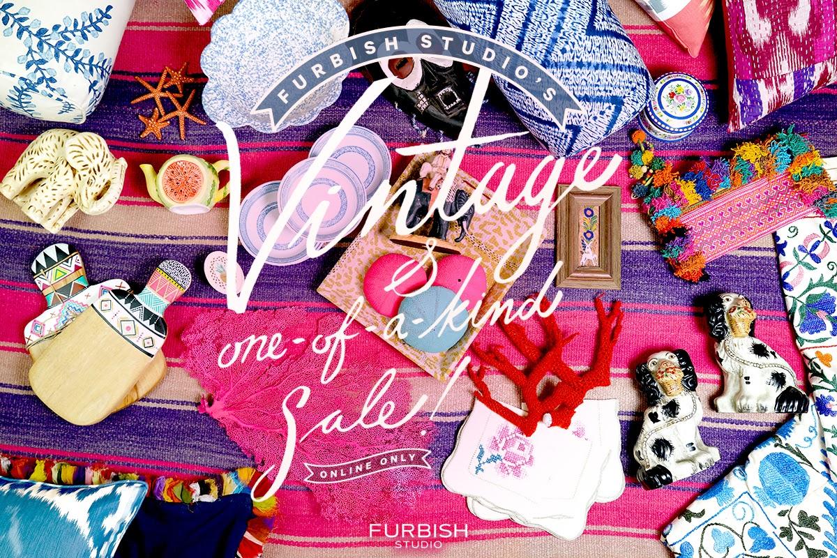 vintage and one-of-a-kind sale – live tomorrow!