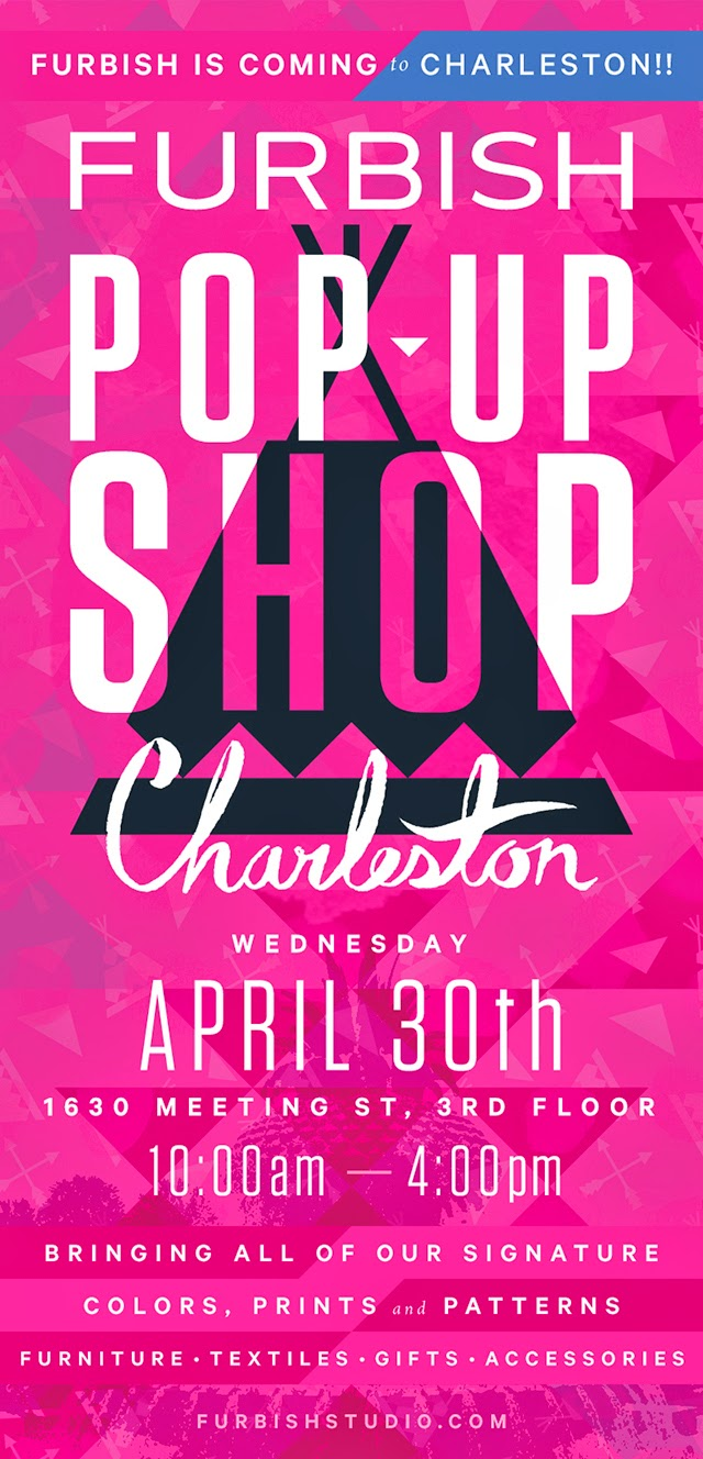 join us next week in charleston for a pop-up shop!