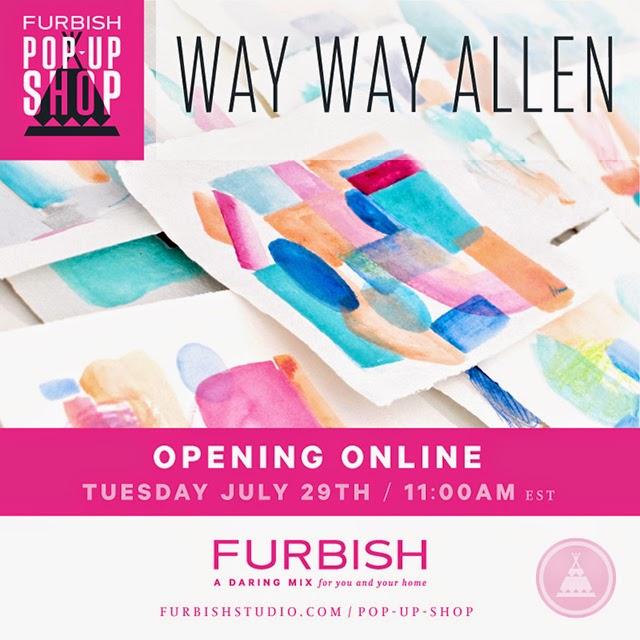 pop-up shop – way way allen
