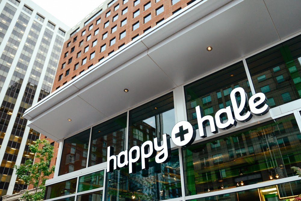 happy + hale in downtown raleigh