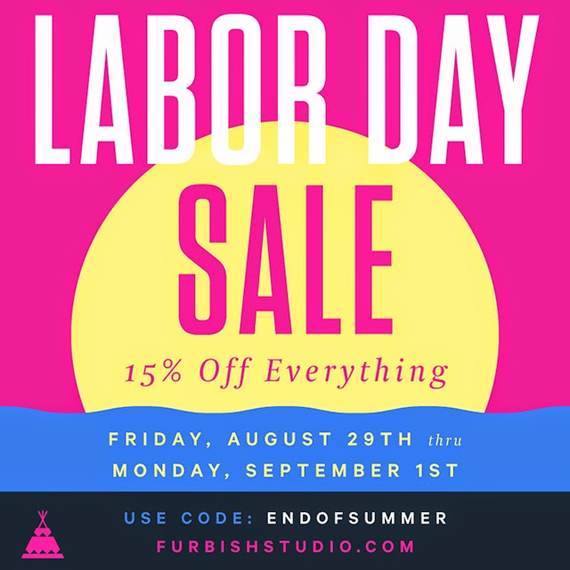 labor day sale – all weekend long!