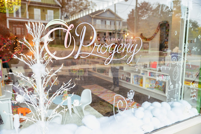 progeny, a children's shoppe for the hip and little