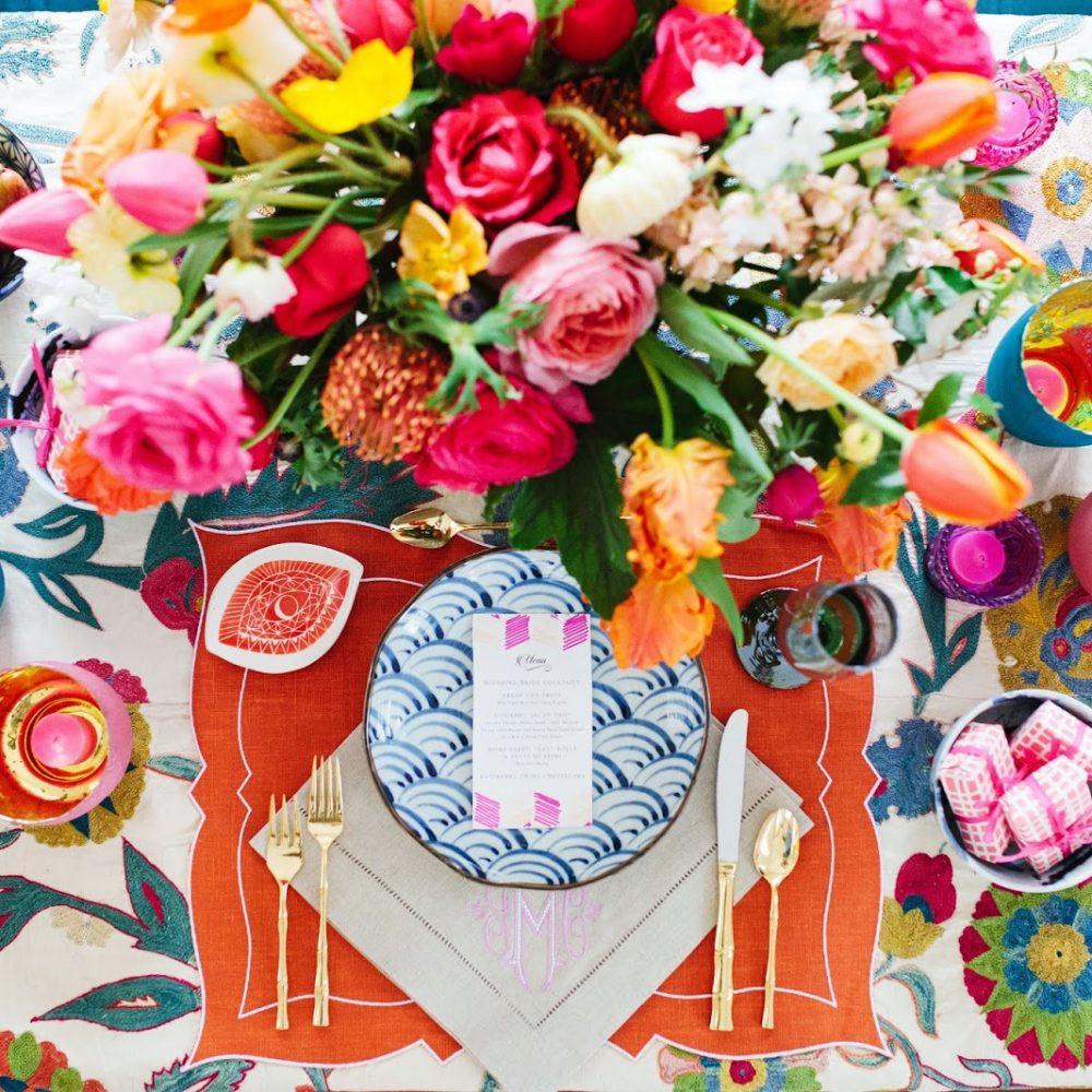 a great friday table setting