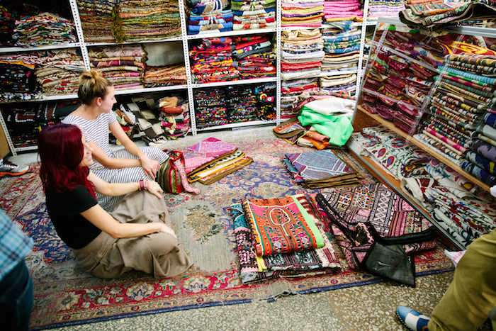 behind the scenes: buying trip to istanbul