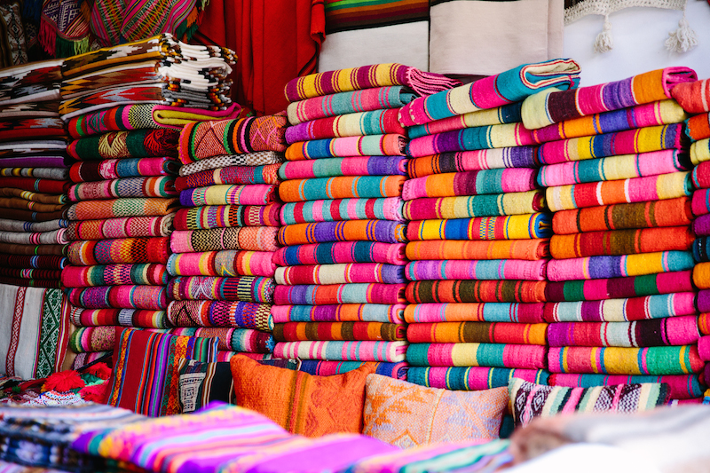 shopping in lima, peru