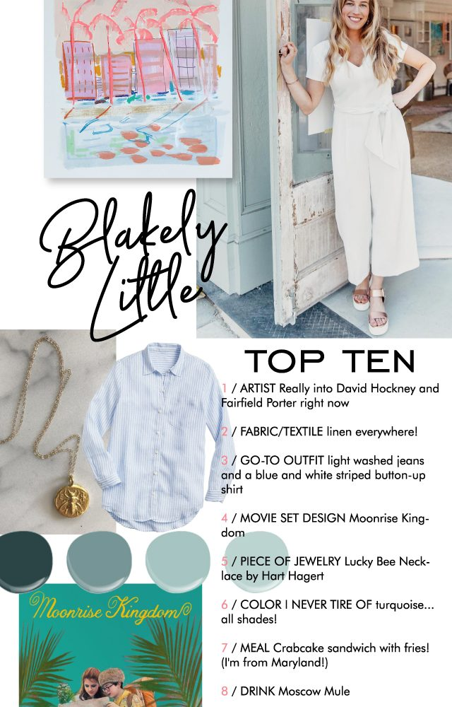 top 10 with blakely little