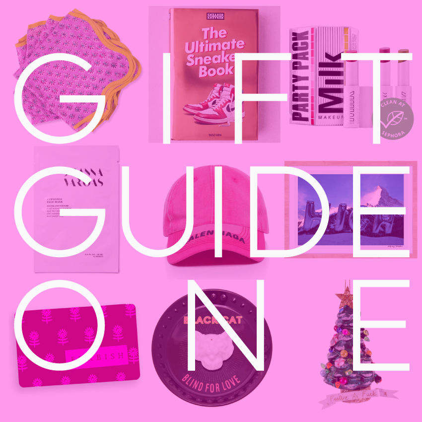 WE ARE LITERALLY HOME AF FOR THE HOLIDAYS – GIFT GUIDE ONE