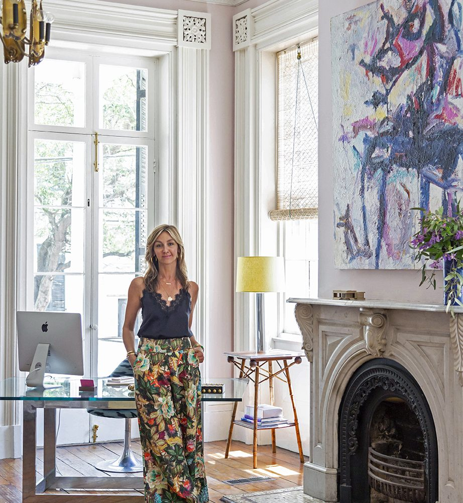 ANGIE HRANOWSKY'S OFFICE IS A PIECE OF WORK